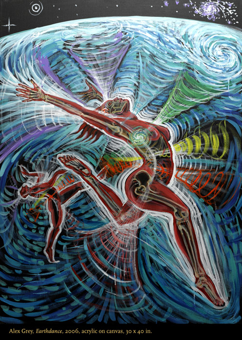 earth dance by Alex Grey