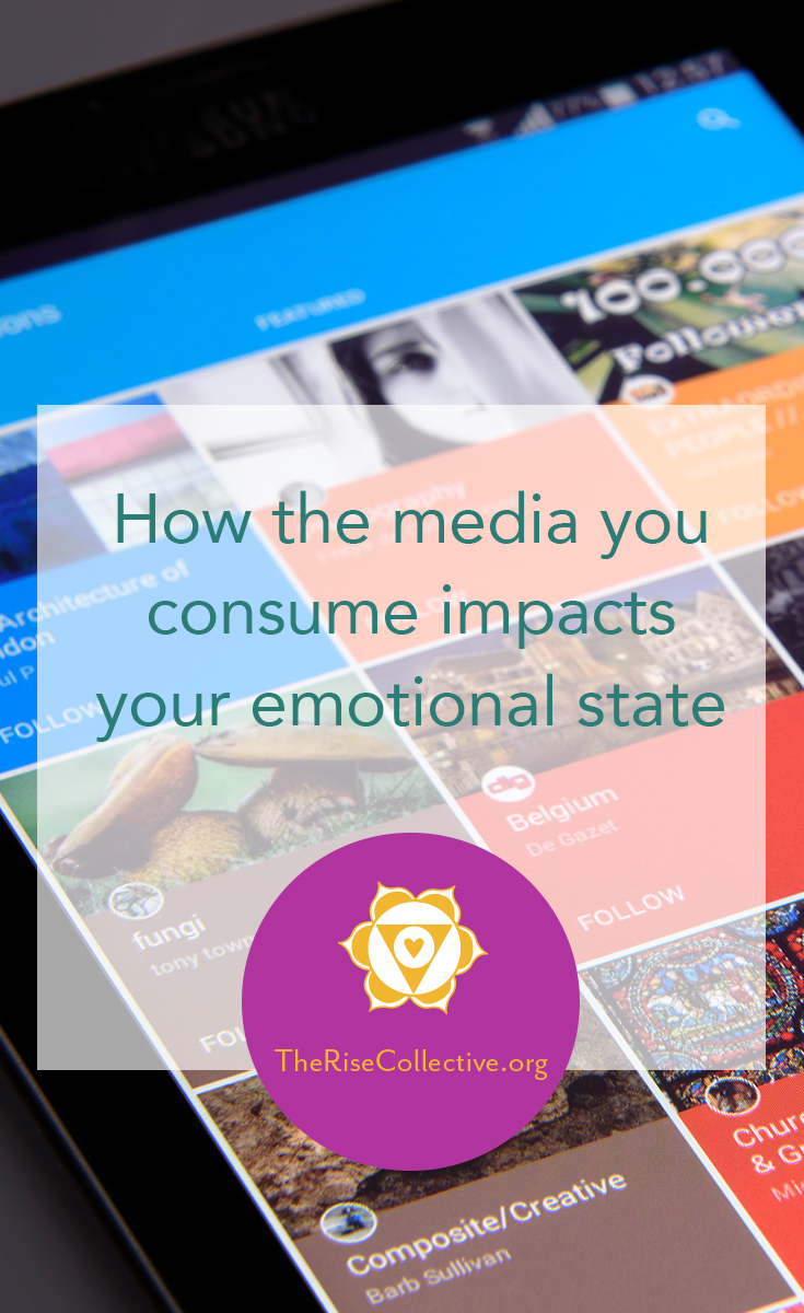 how the media you consume impacts emotional state