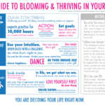 Blooming and thriving in your 20s….And the rest of your life, too