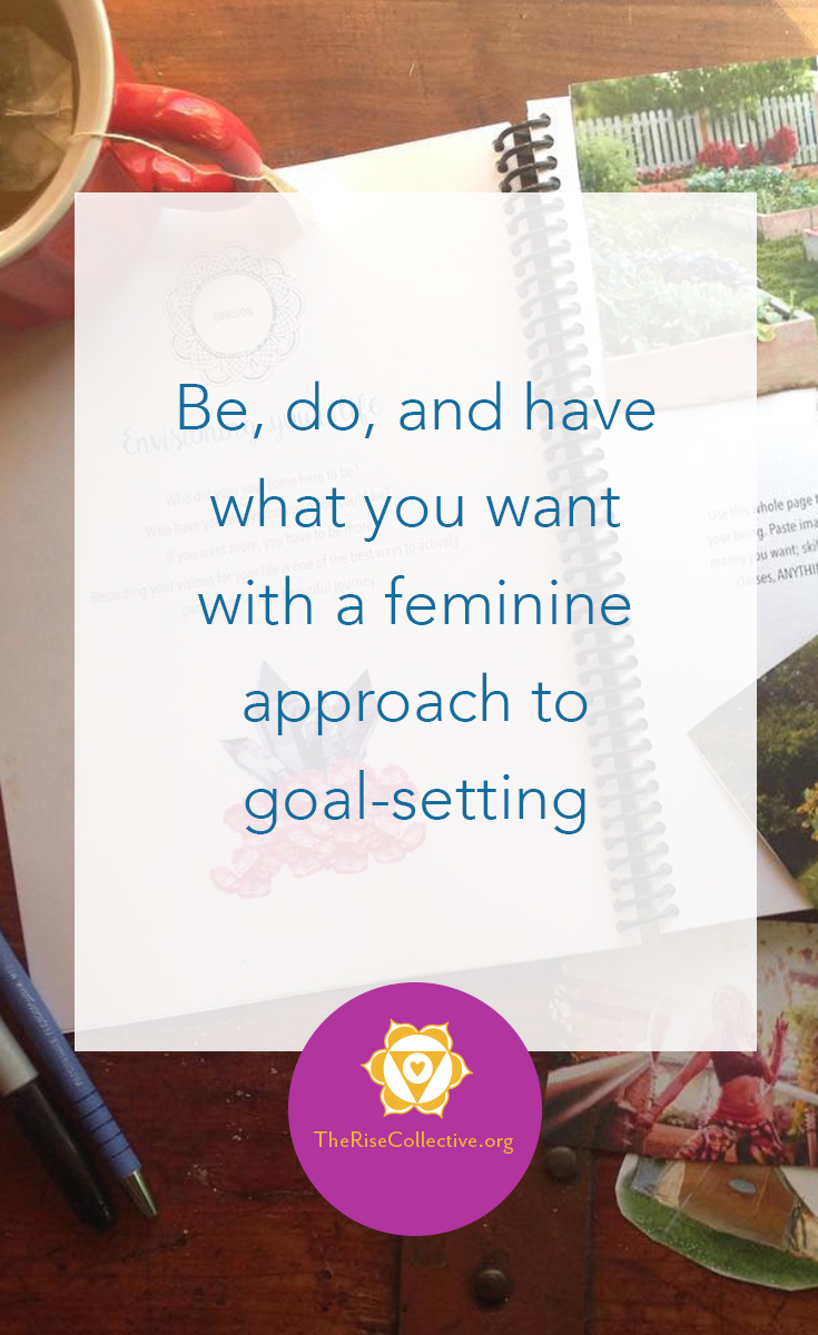 feminine goal-setting life design method